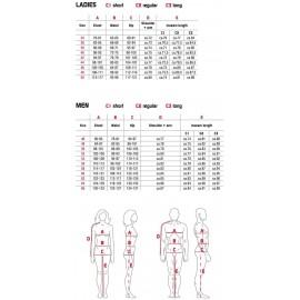SPIDI P143 044 Mystic Lady Damska skórzana kurtka motocyklowa brązowa