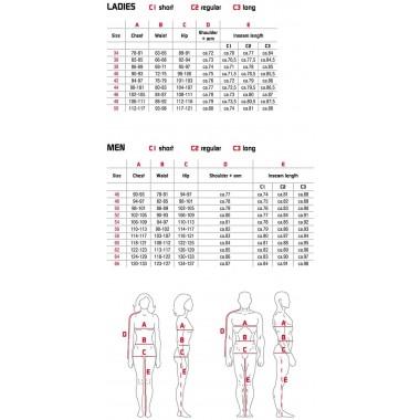 SPIDI P131 026 Ace Leather Kurtka motocyklowa skórzana w kolorze czarnym