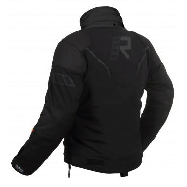 SPIDI P131 454 Ace Leather Kurtka motocyklowa skórzana w kolorze czarnym z szarymi wstawkami