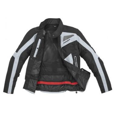 SPIDI D141 016 X-Tour H2Out Męska tekstylna kurtka motocyklowa czarny-zielony fluo