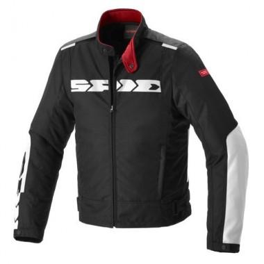 SPIDI D166 010 MULTIWINTER H2OUT Tekstylna kurtka motocyklowa z membraną czarno-szara