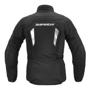 SPIDI P135 026 DARKNIGHT Męska skórzana kurtka motocyklowa czarna