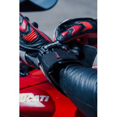 HELD ACONA damskie spodnie motocyklowe czarne.