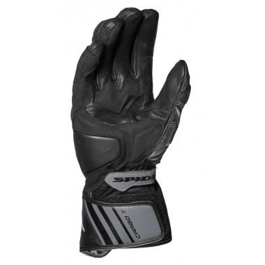 RUKKA VIRIUM Nylonowe rękawice motocyklowe z membraną Gore-Tex czarno-szare