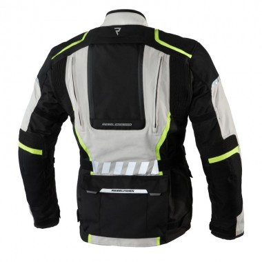 RUKKA MARS Sportowe skórzane rękawice motocyklowe czarne
