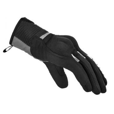 RUKKA SALLI Damska tekstylna kurtka motocyklowa z membraną Gore-Tex czarno-zielona fluo