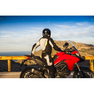 RUKKA SALLI Damska tekstylna kurtka motocyklowa z membraną Gore-Tex czarna