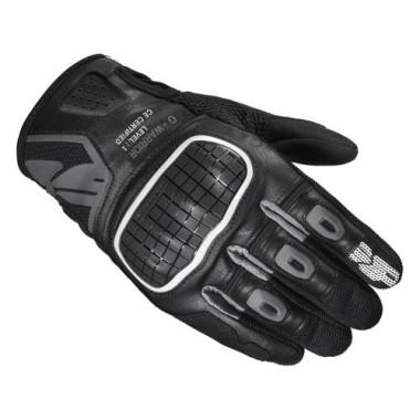 RUKKA ROUGHROAD Tekstylna kurtka motocyklowa z membraną gore-tex czarna-zielona fluo