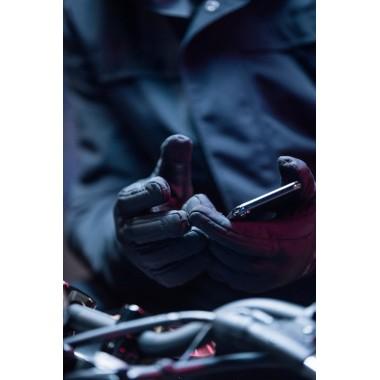 SPIDI C76 026 S-4 Skórzane rękawice sportowe czarne