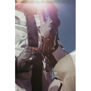 SPIDI C76 014 S-4 Skórzane rękawice sportowe czerwone