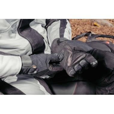 SPIDI B79K3 014 Flash-R Evo Meshowe rękawice turystyczne na motocykl czarno-czerwone