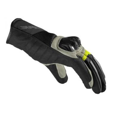 SPIDI A162 071 STR-4 Coupe Skórzano-meshowe rękawice na motocykl sportowy czerwone