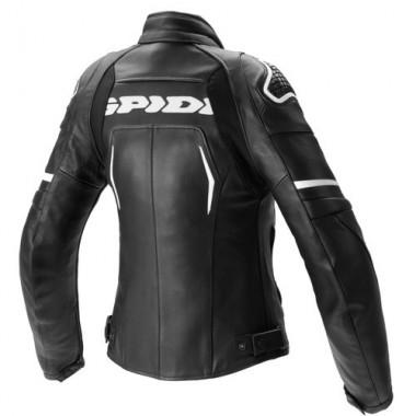 SPIDI D177 094 Flash H2Out Lady Damska wodoodporna kurtka motocyklowa czarno-czerwona