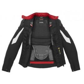 SPIDI D173 021 Tronik H2Out Krótka sportowa kurtka tekstylna czarno-czerwona