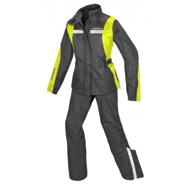 REBELHORN CHANZO Tekstylne spodnie motocyklowe szaro/czarne