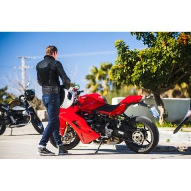 REV'IT HORIZON 2 Męskie tekstylne spodnie motocyklowe czarne