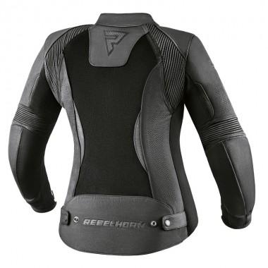 REV'IT HORIZON 2 Męskie tekstylne spodnie motocyklowe czarne skracana nogawka