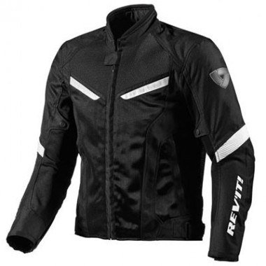 REV'IT POSEIDON GTX Męskie trójwarstwowe spodnie tekstylne z membraną Gore-Tex czarne