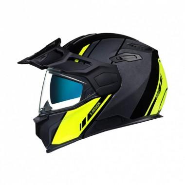 REV'IT VAPOR 2 Tekstylne spodnie motocyklowe do jazdy miejskiej czarne przedłużana nogawka
