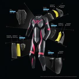 TCX INFINITY EVO GTX Sportowo-turystyczne buty motocyklowe z membraną Gore-Tex czarne