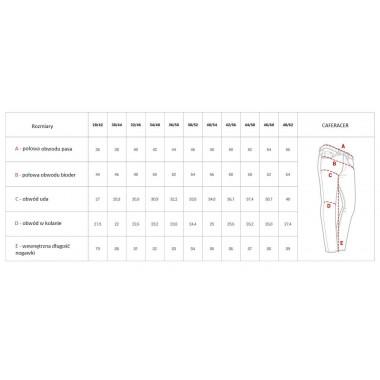 REBELHORN HIFLOW III Męskie tekstylne spodnie motocyklowe czarne