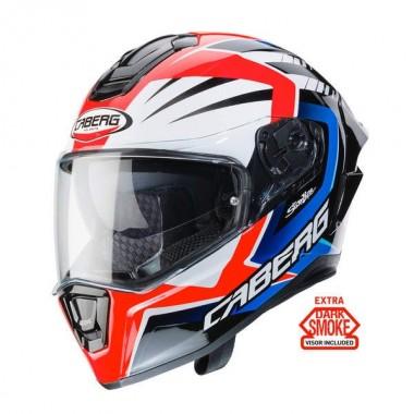 RHINO TOURING Kask motocyklowy otwarty biały połysk