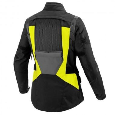 REV'IT CAYENNE PRO Jednowarstwowa tekstylna kurtka turystyczna czarna