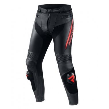 REV'IT SHERLOCK Męska tekstylna kurtka motocyklowa z membraną do jazdy miejskiej czarna