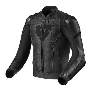 REV'IT FLARE Tekstylna kurtka motocyklowa z membraną czarna