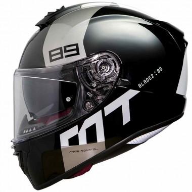 REBELHORN CUBBY III Męskie tekstylne spodnie motocyklowe czarno-szare