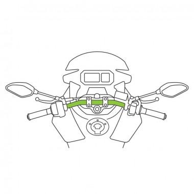 RHINO RACER Kask motocyklowy integralny biały połysk
