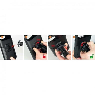 RHINO RACER Kask motocyklowy integralny czarny połysk