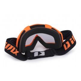 4FUN MOTO FIRE ORANGE Chusta motocyklowa 8w1