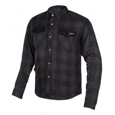 REV'IT MONSTER 2 Krótkie skórzane rękawice motocyklowe czarne