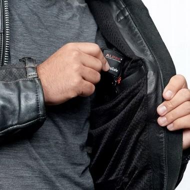 REV'IT JEREZ 3 Sportowe skórzane rękawice motocyklowe czarno-czerwone