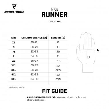 REV'IT BOXXER H2O Skórzane rękawice motocyklowe z membraną hydratex czarne