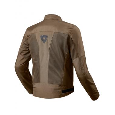 REV'IT GT-R AIR Męska tekstylna kurtka motocyklowa czarna
