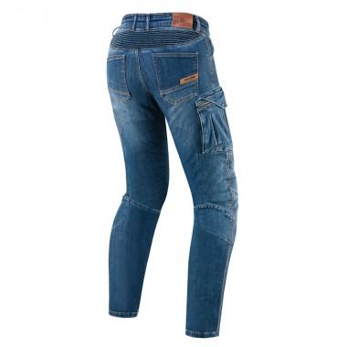 REV'IT RSR 2 Sportowe skórzane rękawice motocyklowe czarne