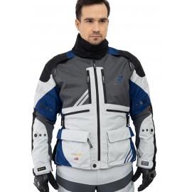 REBELHORN HAIL Skórzane buty turystyczne czarne matowe