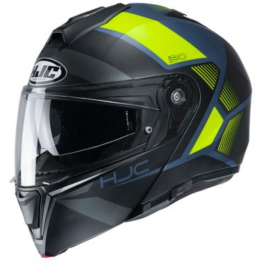 HJC I70 ASTO Kask motocyklowy integralny z blendą czarno/czerwony