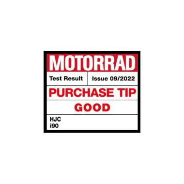 HJC I70 CRAVIA Kask motocyklowy integralny z blendą biało/szary