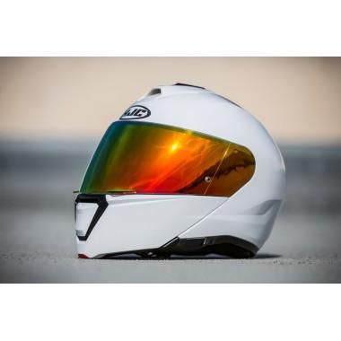HJC I70 CRAVIA Kask motocyklowy integralny z blendą czarno/czerwony