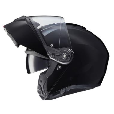 HJC I70 ELIM Kask motocyklowy integralny z blendą czarno/fluo zielony