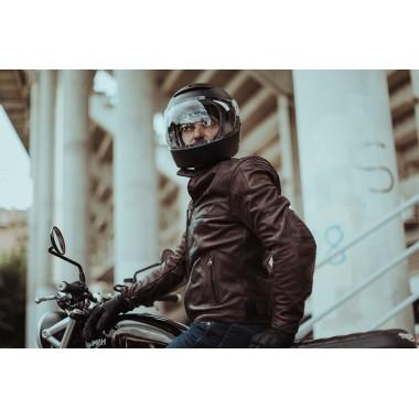 HJC I70 RIAS Kask motocyklowy integralny z blendą czarno/czerwony