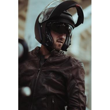 HJC I70 SEMI FLAT Kask motocyklowy integralny z blendą czarny mat