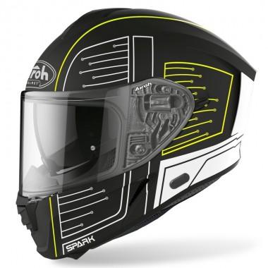 HJC I70 PEARL WHITE Kask motocyklowy integralny z blendą biały połysk