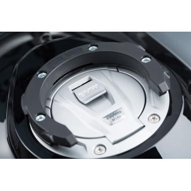 REV'IT Voltiac 2 kurtka motocyklowa czarna z brązowymi elementami