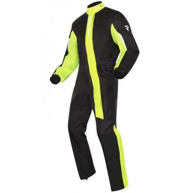 REV'IT Outback 3 kurtka motocyklowa czarna z srebrnymi elementami