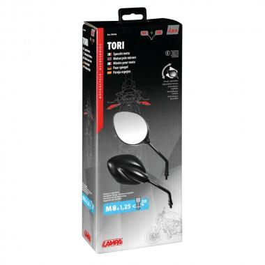 REV'IT Outback 3 Tekstylne spodnie motocyklowe do jazdy miejskiej czarne dłuższa nogawka