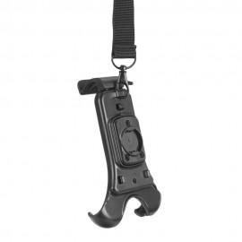 RUKKA REALER Tekstylna kurtka motocyklowa z membraną Gore-Tex czarna z neonowymi elementami